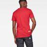 G-Star RAW® Graphic 6 Regular T-Shirt Rouge model back
