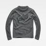 G-Star RAW® Core Logo Knit Grey flat front
