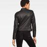 G-Star RAW® Chopper Slim Biker Jacket Black model back