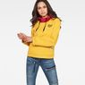 G-Star RAW® Lynaz Hooded Sweat Yellow model front