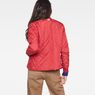 G-Star RAW® Quilted Liner Red model back
