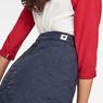 G-Star RAW® Powel Quilted Wrap Skirt Dark blue