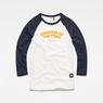 G-Star RAW® Graphic 2 Xula T-Shirt White flat front