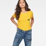 G-Star RAW® Graphic 1 Pocket T-Shirt Yellow model front