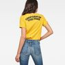 G-Star RAW® Graphic 1 Pocket T-Shirt Yellow model back