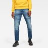 G-Star RAW® Faeroes Classic Straight Tapered Pants Midden blauw model front