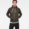 G-Star RAW® Manes Raglan Hooded Zip Sweat model front
