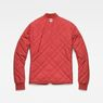 G-Star RAW® Quilted Liner Red flat back