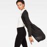 G-Star RAW® Core Long Cardigan Schwarz model side