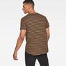 G-Star RAW® Starkon Stripe T-Shirt Brown model back