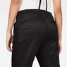 G-Star RAW® Bronson Braces Mid Waist Boyfriend Chino Black model back zoom