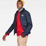 G-Star RAW® Service Overshirt Dunkelblau model side