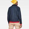 G-Star RAW® Service Overshirt Dunkelblau model back