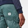 G-Star RAW® Faeroes Classic Straight Tapered Pants Groen model back zoom