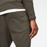 G-Star RAW® Motac-X Straight Tapered Sweat Pants Grey model back zoom