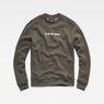 G-Star RAW® Togrul Stor Sweat Grey flat front