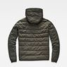 G-Star RAW® Attacc Quilted Hooded Jacket Grey flat back