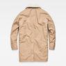 G-Star RAW® Garber Canvas Teddy Overcoat Brown flat back