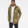 G-Star RAW® Vodan Teddy Padded Field Jacket Beige model front