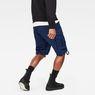 G-Star RAW® Rovic Zip Loose 1/2 Length Shorts Dark blue model back