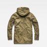 G-Star RAW® Vodan Padded Hooded Teddy Parka Green flat back