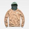G-Star RAW® Core Hooded Sweat Brun flat front