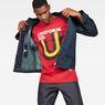 G-Star RAW® Graphic 6 Regular T-Shirt Rouge creative shot