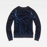 G-Star RAW® Kikko Xzula Sweat Dark blue flat back