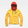 G-Star RAW® Lynaz Hooded Sweat Yellow flat front