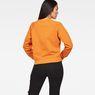 G-Star RAW® Xula New Art Sweater Orange model back
