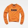 G-Star RAW® Xula New Art Sweater Orange flat front