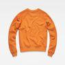 G-Star RAW® Xula New Art Sweater Orange flat back