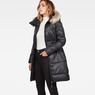 G-Star RAW® Whistler Long Coat Black model side