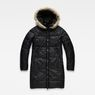 G-Star RAW® Whistler Long Coat Black flat front