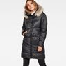 G-Star RAW® Whistler Long Coat Black model front