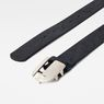 G-Star RAW® Rikku Logo Pin Belt Dark blue front flat