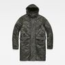 G-Star RAW® Vodan Quilted Parka Grey flat front
