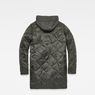 G-Star RAW® Vodan Quilted Parka Grey flat back