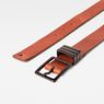 G-Star RAW® Wukah Belt Brown front flat