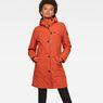 G-Star RAW® Vodan Padded Slim Parka Orange model front