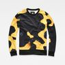 G-Star RAW® Bumble Frog Stalt Deconstructed Sweater Yellow flat front