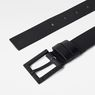 G-Star RAW® Duko Belt Black front flat
