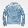 G-Star RAW® 3301 Slim Jacket Medium blue flat back