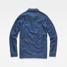 G-Star RAW® Blake Overshirt Medium blue flat back