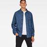 G-Star RAW® Blake Overshirt Medium blue model front
