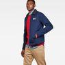G-Star RAW® Service Overshirt Donkerblauw model side