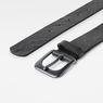 G-Star RAW® Dirik Deboss Belt Black front flat
