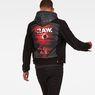 G-Star RAW® D-Staq RFTP Eclipse 3D Deconstructed Jacket Black model back