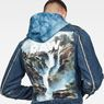 G-Star RAW® D-Staq RFTP Water 3D Deconstructed Jacket Medium blue creative shot