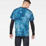 G-Star RAW® Cyrer Water Loose T-Shirt Medium blue model back
